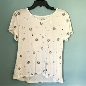 HOLLISTER MUST HAVE COLLECTION EASY T-SHIRT WHITE